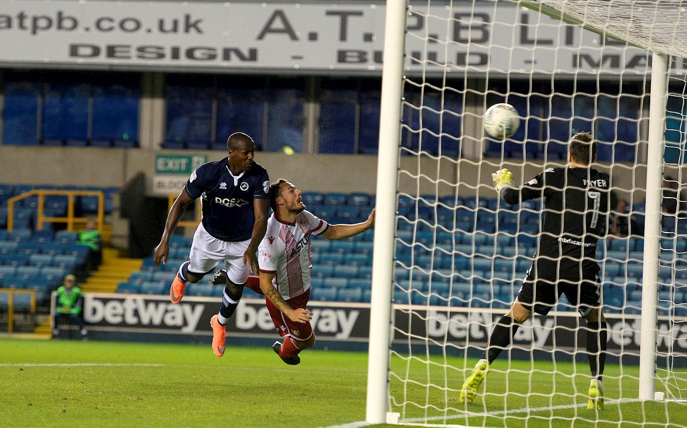Millwall Vs Stevenage - Tom Elliott first goal