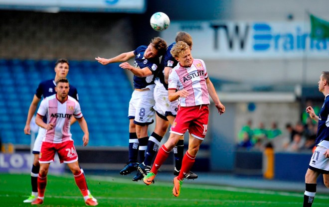Millwall Vs Stevenage - Ben Thompson