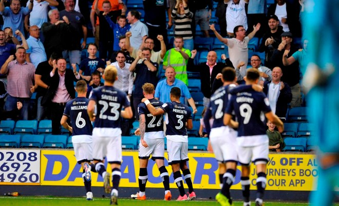 Millwall Ipswich O'Brien goal celebration